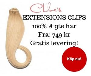 ægte hår extensions