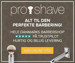 Rabat på barbergrej, barberblade, aftershave, sæbe