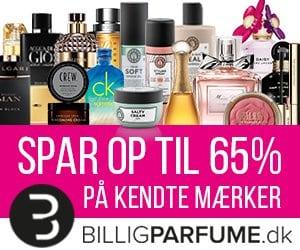 Store rabatter på kendte parfume brands