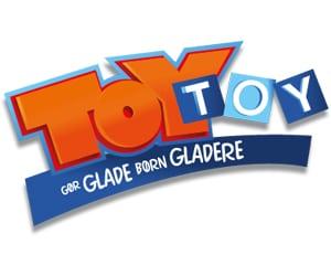 kæmnpe udvalg i legetøj med rabat