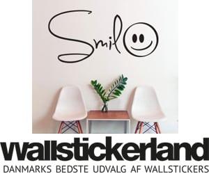 wallstickers og klistermærker