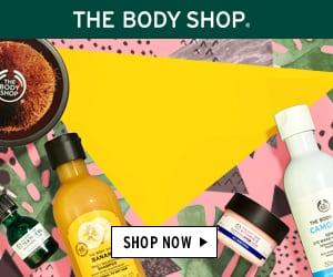 The Body Shop 100% naturlige hudpleje og skønhedsprodukter