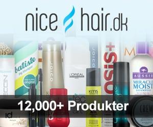 NiceHair DK Danmarks største online udvalg af skønhedsprodukter