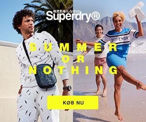 Superdry trendy tøj af høj kvalitet og lidt anderledes designet